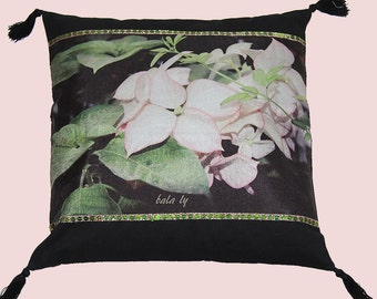 FLOWER pillow cover 40 x 40 cm