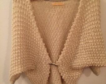 Vintage crocheted cardigan