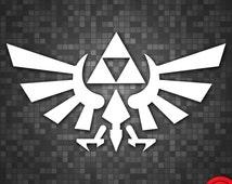 Legend of Zelda Wingcrest Vinyl Decal