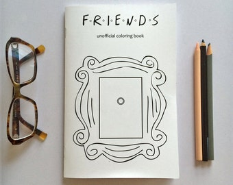Friends Coloring Book - 15 pages