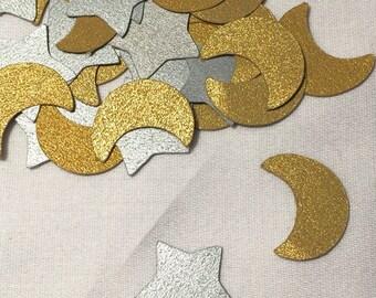 Stars/Moon Confetti