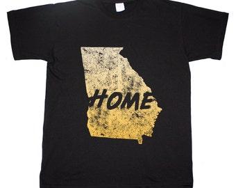 Georgia State Home Tee Peach State Atlanta T shirt