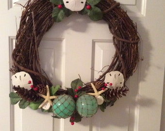 Nautical Cape Cod Wreath