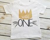 Where The Wild Things Are, Birthday, 1ST Birthday, One, Wild One, Wild One Birthday, Cake Smash Shirt, Birthday Shirt