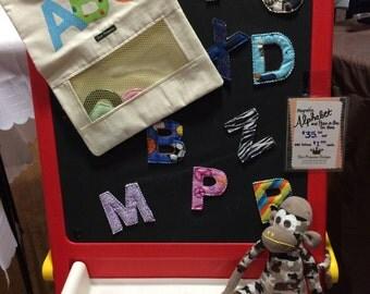 Magnetic Alphabet Letters