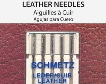 Schmetz Leather Needle 90/14 5 Pack