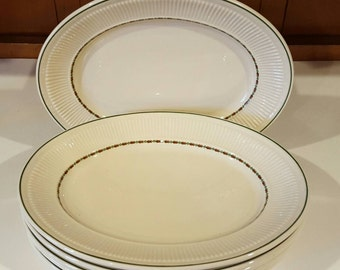 Shenango China Anchor Hocking Oval Dinner Plate