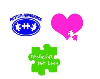 Autism Decals - Autism Stickers - Autism Awareness - Autism Love
