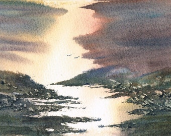 Original Landscape Watercolor