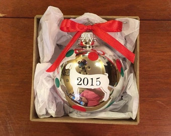 4-h Wether Goat 2016 Ornament, Meat Goat Ornament, Goat Ornament