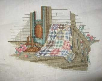 Quilt Cross Stitch Picture