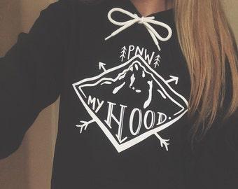 Hand Drawn 'My Hood' Hoodie/Tees