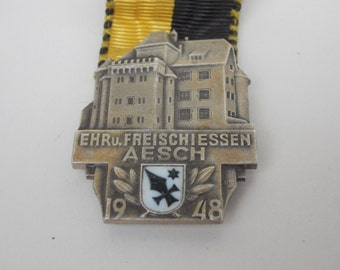 Vintage germany medal 1948 , medal black, medals , old , vintage , decor, Kranz Auszeichnung, army medal, collector, decor