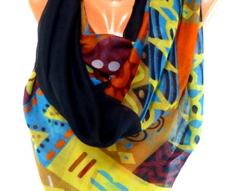 Scarf, Shawl, Valentines Day Gift, Valentines day scarf, Lightweight Summer Scarf,Gift for Her, Gift for Valentines Day