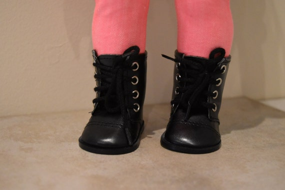 American girl Doll Boots black