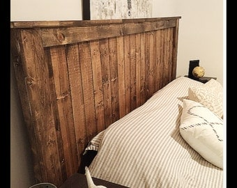 Barn wood bed frame | Etsy