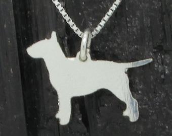 Bullterrier Sterling Silver Pendant