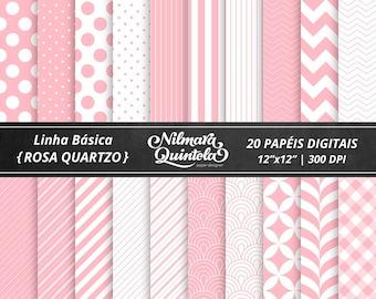 Basic Papers Kit - Rose Quartz