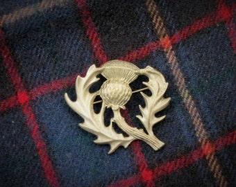 Scotland Thistle Brooch