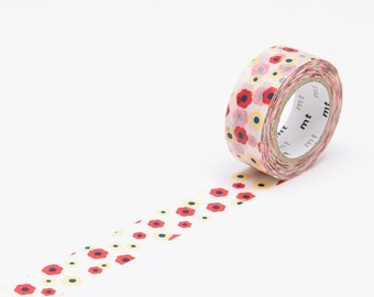 MT for Kids, Washi Tape Flower, MT Tape, Japanese Washi Tape, Pink Washi Tape, Deco Tape, mt Washi Tape, mt Masking Tape, washi tape kids
