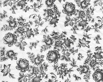 Ceramic Decal - flower 2
