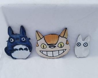 My Neighbor Totoro Stoneware Characters