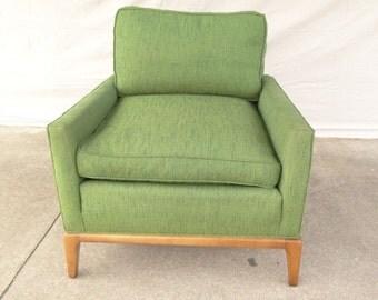 robsjohn gibbings widdicomb lounge club chair mid century danish modern