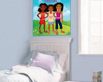 Brianna, Maya & Jada Poster (18x24)