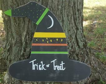 Witches Hat Halloween Door Decor