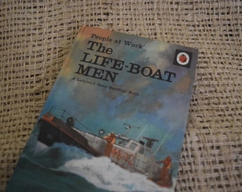 The Lifeboat Men. A Vintage Ladybird Book. Series 606B. 1972
