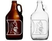 Duke University - Blue Devils - Beer - Mug - Pint Glass - Growler