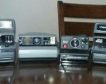 Lot of Polaroids
