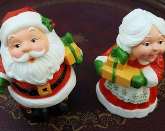 Hallmark Santa & Mrs. Claus Salt and Pepper Shakers