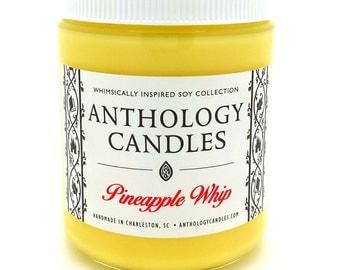 Pineapple Whip Candle - Anthology Candles - Disney Candles - 8 oz Jar