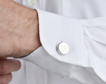 Usher cuff links etsy for Mens dress shirt button covers