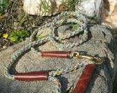 Paracord Dog leash, Durable Dog Leash, Dog Leash, 4 ft dog leash, Soft Grip Dog Leash, Dog Lead
