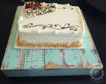 Wood Cake Stand, Pastry Display, Food Display, Birthday Decor, Wedding Decor, Anniversary Decor, Shabby Chic, Rustic Decor, Candy Buffet