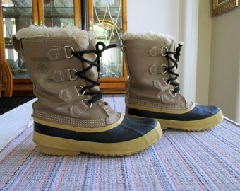 Duck Boots Etsy