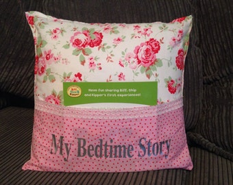 Bedtime story book cushion