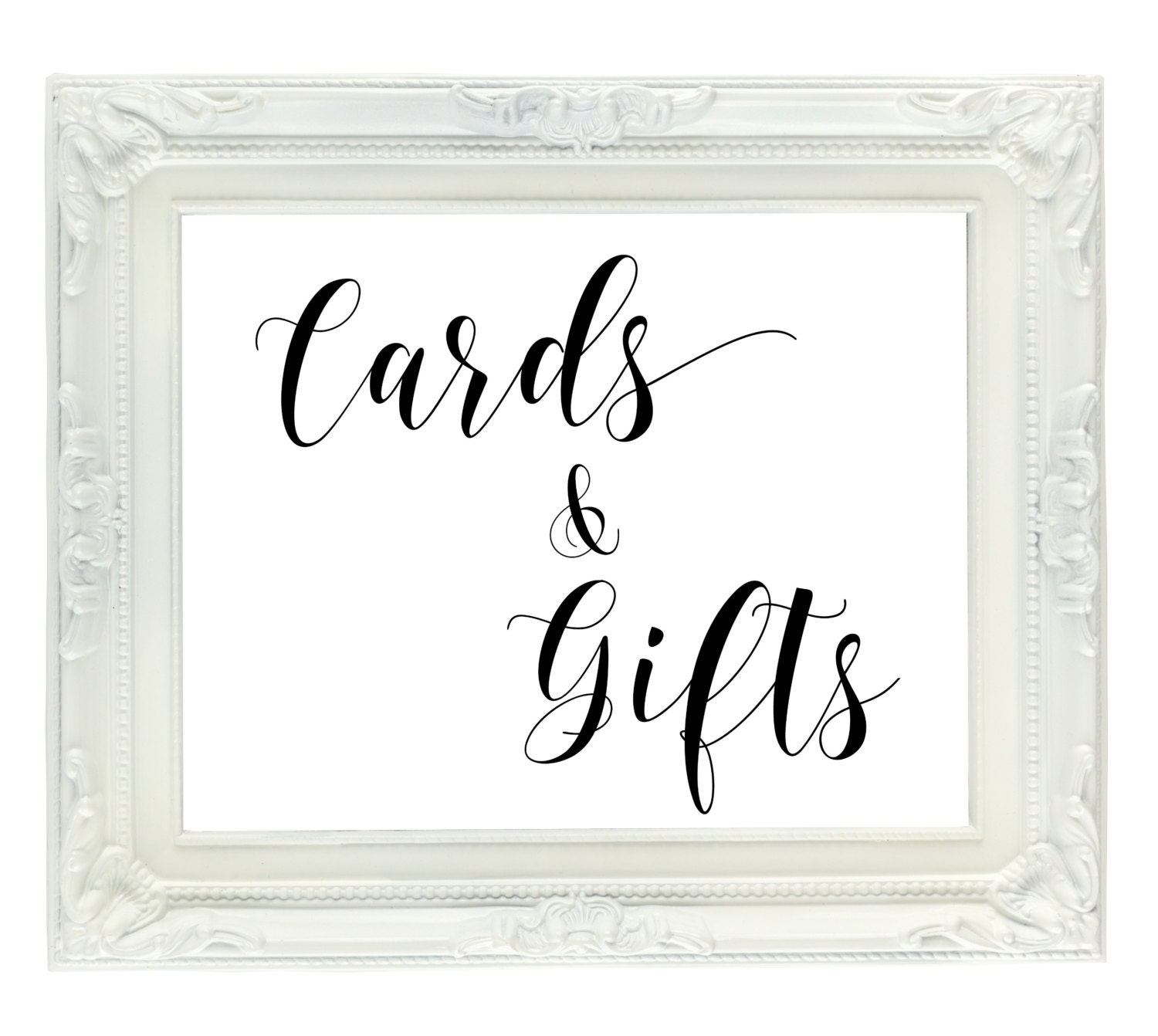 Printable Wedding Gift Card Free : Cards & Gifts Wedding Sign PRINTABLE wedding sign gift table