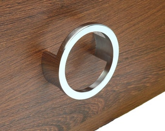 2.5u0027u0027 Modern Dresser Drawer Pulls Handles Knobs Ring Pulls Cabinet Door  Handle Pull Silver