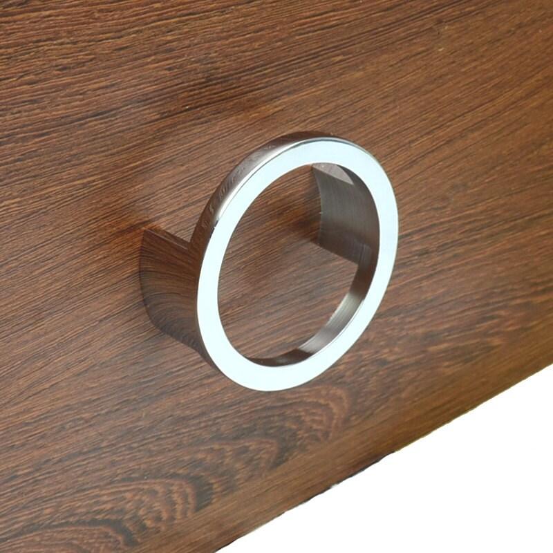 2.5'' Modern Dresser Drawer Pulls Handles Knobs Ring Pulls Cabinet ...