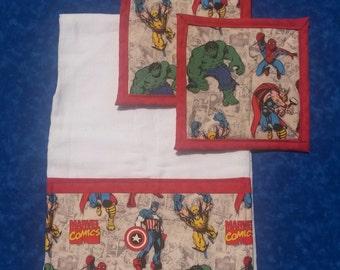 Marvel Comics Kitchen Set