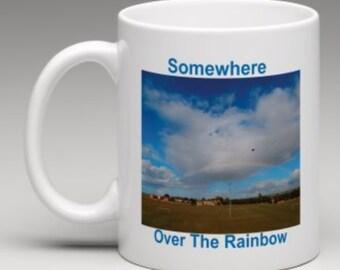 Somewhere Over The Rainbow Ceramic Mug