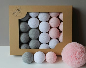 Cotton Balls Soft Powder 10 items