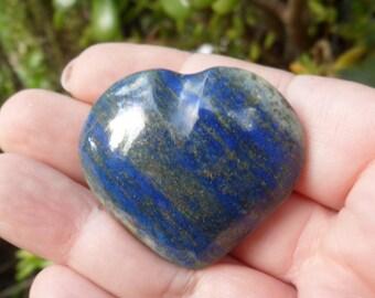 Lapis Lazuli Stone Heart