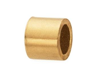 90 to 100 Pcs 1.1x1 mm 14K Gold Filled Crimp Beads (GF4005101)