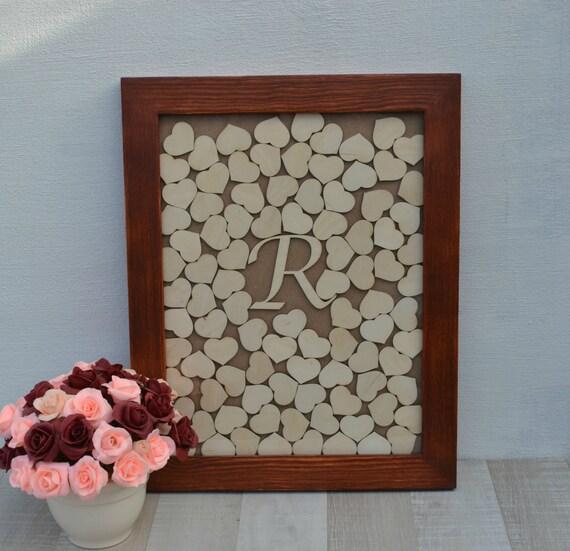 Wedding Gift Drop Box : ... Drop Box Guest book wood frame Gifts & Mementos Wedding Gift Groomsmen