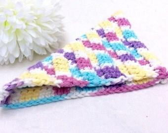 Handmade Crochet Dish Cloth Set of 2