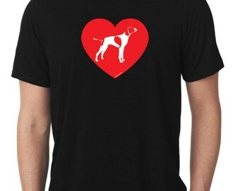 Love English Pointer T-Shirt T1173